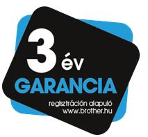 Brother 3év garancia